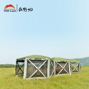 六角模块帐篷
